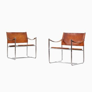 Amiral Armchairs by Karin Mobring, 1950s, Set of 2