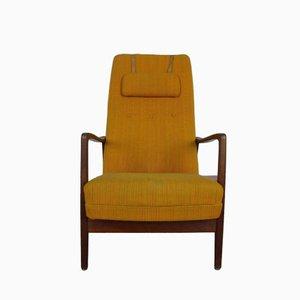 Modell 829 Sessel mit Hoher Rückenlehne von Gio Ponti für Cassina, 1960er