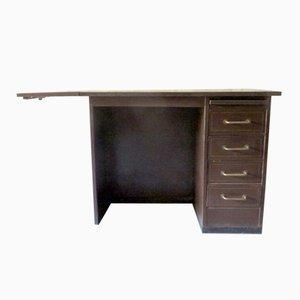 Kleiner Industrieller Schreibtisch aus Metall von Roneo, 1960er