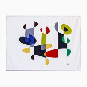 Mid-Century Trio Velvet Tapestry by Pierre Olofsson for Nordiska Kompaniet