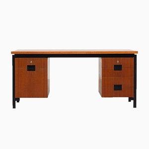 Modell EU02 Teak Schreibtisch von Cees Braakman für Pastoe, 1960er