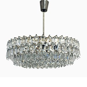 Chandelier with Swarovsky Crystals, 1960s