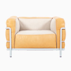 Vintage LC3 Grand Confort Chair by Le Corbusier, Pierre Jeanneret, & Charlotte Perriand for Cassina