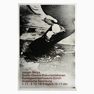Joseph Beuys Exhibition Poster Lithograph, 1973