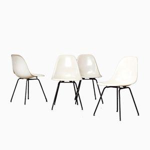 DSX Esszimmerstühle von Ray & Charles Eames für Herman Miller, 1960er, 4er Set