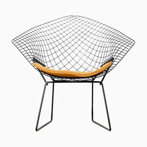 Model 421 Diamond Lounge Chair by Harry Bertoia for Knoll Inc, 1960s
