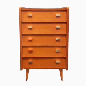 French Oak Chest of Drawers, 1950s