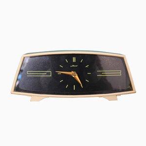 Russische Mid-Century Schreibtisch Uhr aus Bakelit, 1960er