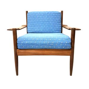 Mid-Century Danish Lounge Chair in Teak