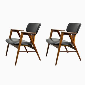 FT14 Armchairs by Cees Braakman for Pastoe, 1950s, Set of 2