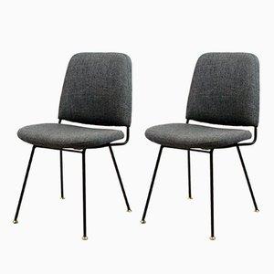Italienische Stühle von Arflex, 1950er, 2er Set