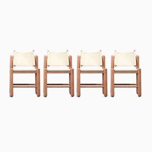 Danish Chairs by Knud Frais & Elmar Moltke Nielsen for Friis & Moltke Nielsen, 1960s, Set of 4