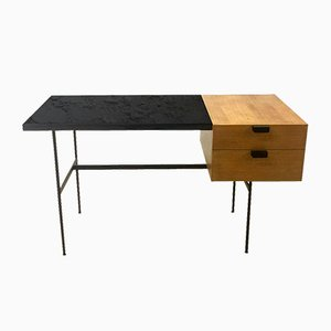 Vintage CM 141 Desk by Pierre Paulin for Thonet, 1950s
