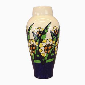Art Deco Vase von Charles Catteau für Keramis
