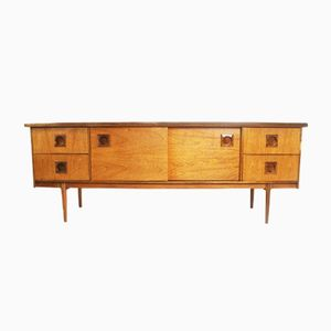 British Teak Sideboard, 1970s