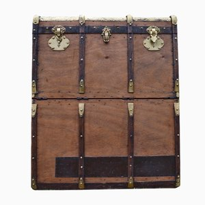 Double Travel Trunk from Larcher & Brousse, 1900s