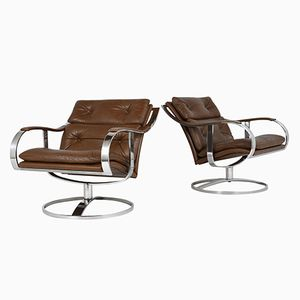 Lounge Chairs by Gardner Leaver for Steelcase, 1970s, Set of 2