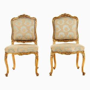 Antike Stühle im Louis XV Stil, 2er Set
