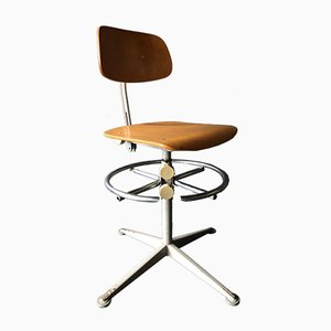 Vintage Industrial Swivel Chair by Friso Kramer for Ahrend De Cirkel