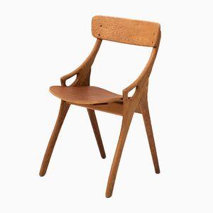 Vintage Beistellstuhl von Arne Hovmand Olsen für Mogens Hold