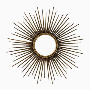 Mid-Century Spiegel in Sonnen Optik von Chaty Vallauris