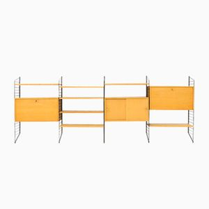 Vintage Wall Unit by Nisse Strinning for String