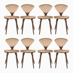 Vintage Dining Chairs by Norman Cherner for Plycraft, Set of 8