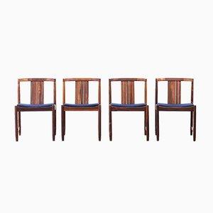 Danish Rosewood Chairs, 1960s, Set of 4