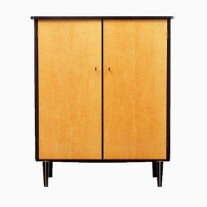 Bicoloured Maple Linen Cupboard, 1950s