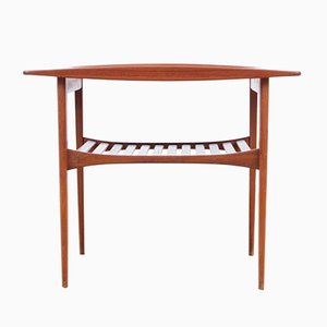 Model FD510 Teak Side Table by Tove & Edvard Kindt-Larsen for France & Søn, 1956