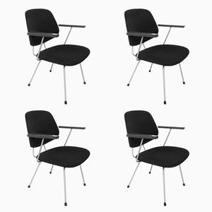 Chairs by W. H. Gispen for Kembo, 1964, Set of 4