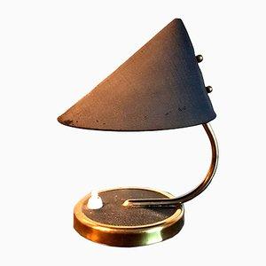 Kleine Tischlampe aus Messing, 1950er