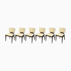 Art Deco Chairs, 1930s, Set of 6