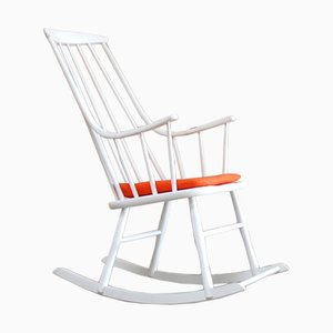 Vintage Grandessa Rocking Chair by Lena Larsson for Nesto