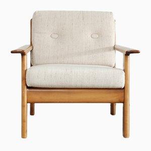 Vintage Sessel aus Kirschholz von Knoll