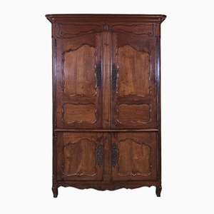 19th-Century Presentation Cabinet in Cherry