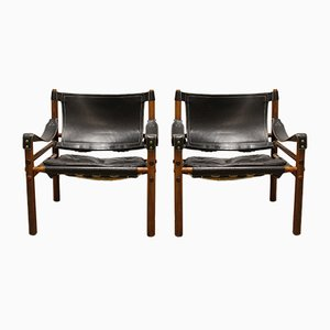 Sirocco Chairs by Arne Norell, 1965, Set of 2