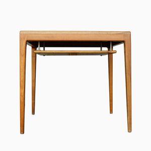 Mid-Century Teak Veneer and Oak Table by Hartmut Lohmeier for Wilkhahn