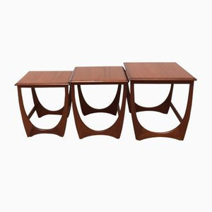 Nesting Tables by Victor Wilkins for G-Plan, 1970s
