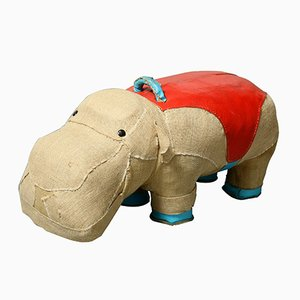 Mocky Hippo Therapeutic Toy by Renate Müller for VEB Sonni, 1970s