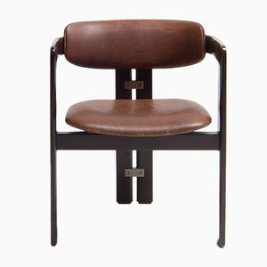 Vintage Pamplona Chair by Augusto Savini for Pozzi, 1960s