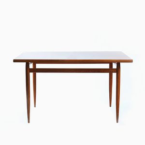 Wooden Dining Table in Mahagony Veneer, 1970s