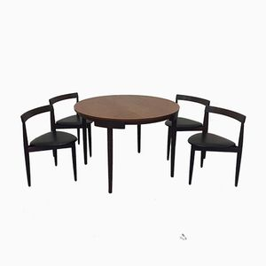 Roundette Dining Set by Hans Olson for Frem Røjle, 1960s