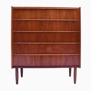 Mid-Century Danish Tallboy Dresser, 1960s