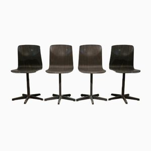 German Children's Chairs by Elmar Flötotto for Pagholz Flötotto, 1970s, Set of 4