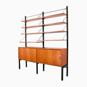 Royal Free Standing Shelving Unit by Poul Cadovius for Cado, 1950s