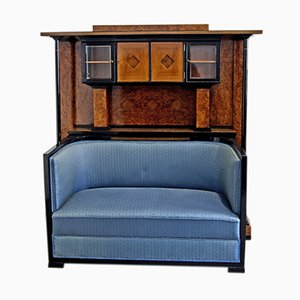 Cabinet with Sofa, 1900s
