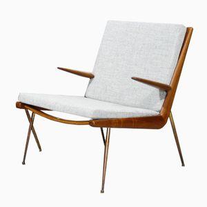 Boomerang FD-159 Lounge Chair by Peter Hvidt & Orla Molgaard-Nielsen for France & Søn, 1950s