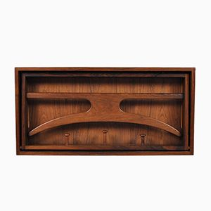 Rosewood Coat Rack by Hoff and Ostergaard for Virum, 1950s