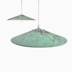 Copper Pendants by Henning Larsen for Louis Poulsen, 1960s, Set of 2